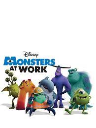 Monsters At Work - Cartoon Images