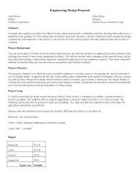 Engineering Proposal Sample Classy Engineering Proposal Template Design Supergraficaco