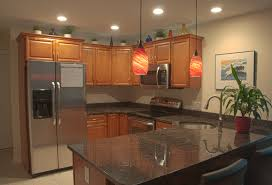 Recessed Lighting Kitchen Kitchen Lighting Design Schoolhouse Style In The Kitchen View In