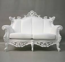 white vintage couch. Black Leather White Vintage Couch O