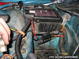 civic eg view topic 92 vx daily driver Eg Fuse Box the only factory wire left over would be the accessory power wire, which i run straight to the under dash fuse box to avoid needing the stock stereo harness eg civic fuse box