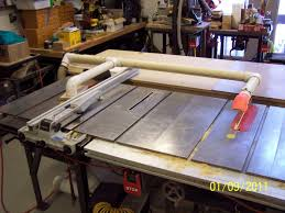 table saw throws saw dust at me woodworking talk woodworkers forum