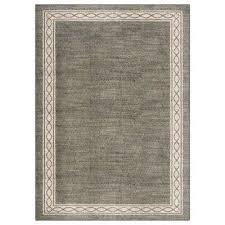 sparrow elephant gray bone white 5 ft x 7 ft area rug