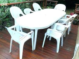 plastic outdoor dining table large size of round resin tables bistro indoor outdoor folding picnic