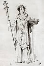 деметра богиня картинки