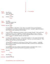 Gallery Of Business Letter Format Owl Sample Business Letter