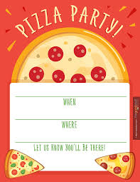 pizza party printables from printabelle pizza food cards hostess helpers pizza party printables