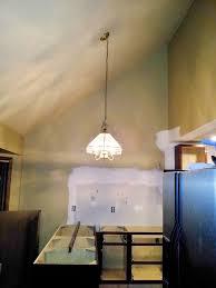 custom sloped ceiling lighting