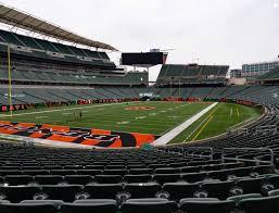 Paul Brown Stadium Section 150 Seat Views Seatgeek