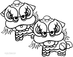 Small Picture Free Printable Coloring Chinese New Year Coloring Pages 27 With