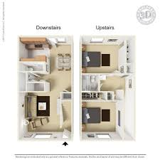Floor Plan The Barracks Townhomes 4BED4BATH  AggieSearchTownhomes Floor Plans