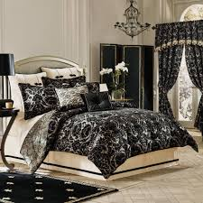 Bedroom Ideas Charming Bed Bath And Beyond Comforters With Balck