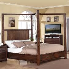 Lancaster Bedroom Furniture Loon Peak Lancaster Storage Canopy Bed Reviews Wayfair