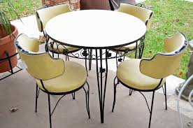 vintage metal dining chairs. Brilliant Chairs Vintage Metal Dining Table And Chairs Inside Vintage Metal Dining Chairs T
