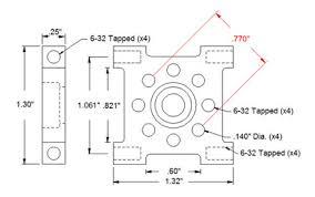 pillow block bearings dimensions. dimensions. actobotics 1/4\ pillow block bearings dimensions t
