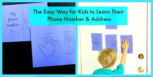 How To Teach Kids To Memorize Their Address And Phone Number