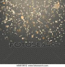 Overlay Effect Glitter Gold Light Shine Effect On