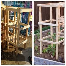 Diy tomato cage Growing It You Would Like To Make Your Own You Will Need per Each Tomato Cage Ella Claire Diy Tomato Cage Sturdy And Inexpensive Ella Claire