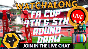 When is the fifth round draw tonight and how can i watch? Watch Fa Cup 4th 5th Round Draw Live Wolves Fan Reactions Youtube