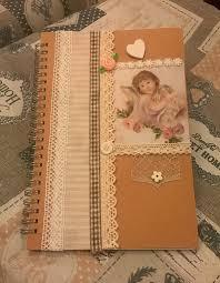 Quaderno diario agenda decorata a mano per la casa e per te