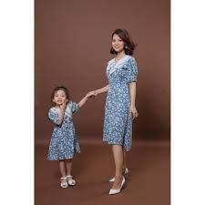 Set Áo đồ đôi mẹ và bé gái 7 mẫu [FREESHIP] Váy đôi mẹ và bé gái dễ thương  xinh xắn