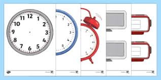 Ks2 Time Visual Aids Primary Resources, Time, Time