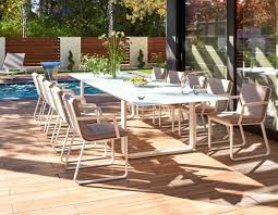 averon transitional white glass extendable dining table white outdoor dining table white plastic patio table with