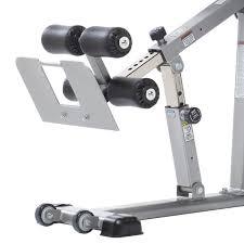 evolution adjule hyper extension bench