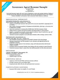 Insurance Agent Job Description For Resume Unique Insurance Agent Resume Sample Mkma