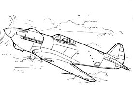 E 30 Gevechtsvliegtuig Kleurplaat Gratis Kleurplaten Printen