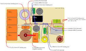 jenzen illuminator Bi Amp Wiring Diagram connecting drivers and binding posts the layout is for bi wiring bi amping, thus two pairs of binding posts needed speaker bi amping wiring diagram