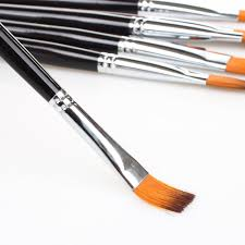 2018 Wholesale Artists Paint Brush Set Watercolor Paintbrush Acrylic Brush Flat Pointed Tip Nylon Hair From Meetamo Price Dhgate Com