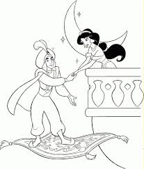 Small Picture 114 best Alladin Coloring Pages images on Pinterest Disney