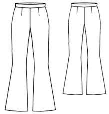 Flare Pants Pattern