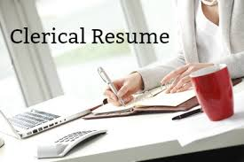 Sample Clerical Resume
