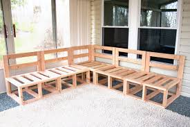 wood outdoor sectional. How To Build Patio Furniture Fresh Outdoor Sectional Framing Diy Project Deck Tutorials Wood
