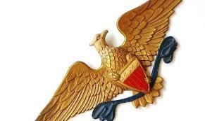 eagle wall decor bald bird brass kaecsite
