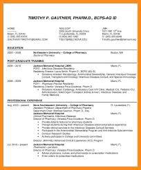 12 13 Pharmacist Curriculum Vitae Examples