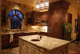fabulous rustic kitchens. Fabulous White Marble Single Sink Rustic Kitchen Island Also Barn Wood Brown Cabinets In Ancient Decors Kitchens