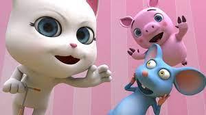 Chú Mèo Con - Nhạc Thiếu Nhi - Con Chuột Nhắt - Meo Meo Meo Rửa Mặt Như Mèo  - YouTube