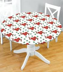 elasticized table cover custom fitted vinyl table covers with elastic square clear round elasticized table cover
