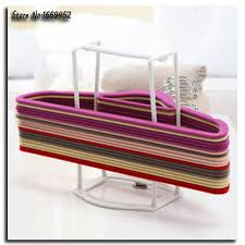 Coat Hanger Storage Rack 100PCS Free Shipping New Plastic Storage Holders Coat hanger Storage 3
