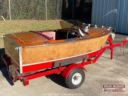 Iron Horse Auction - Auction: Surplus Racing Equipment Auction for Ken  Schrader Racing Inc. ITEM: Custom Built 9' Wooden Boat by Legendary Ivan  Baldwin