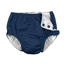 Shop I Play Baby Boys Snap Reusable Absorbent Swimsuit