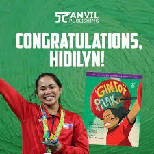 Hidilyn Diaz wrote children's book ...