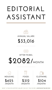 Digital Designer Salary Nyc What A Fashion Editors Salary Can Get You In Nyc Who What