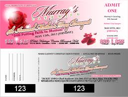 Banquet Tickets Sample Excellence De Zions Blog Archive Murrays Catering Hires