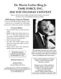 dr martin luther king jr task force inc seeks mlk essay  for more information contact councilw elect tawnya morris mlk task force essay contest chair at tawnyamorris gmail com or