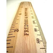 Wooden Height Chart Wood Height Chart Leakpapa Co