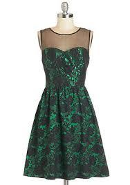 green black mesmerizing: modcloth mesmerizing mademoiselle dress nwt sz  green